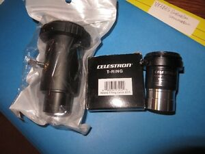 Celestron T-Ring , Barlow T Adapter & Extender for Canon Mount