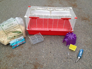 Guinea pig cage and supplies - huge lot!!