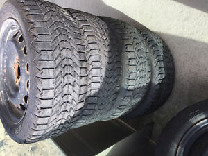 205/55/16 winter tires with  rims