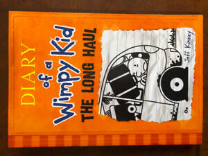 Diary of a Wimpy Kid book # 9 - The Long Haul - NEW