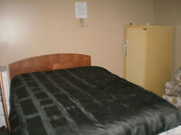 Room for rent In Bancroft 14 x 14 furnished or not.