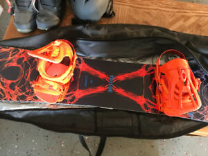 Complete snowboard package