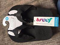 Ladies Reef flip flops