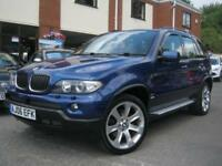 2006 06-Reg BMW X5 3.0d auto Le Mans Blue Sport Edition,IMMACULATE COND,LOOK!!!
