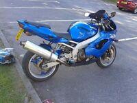 Kawasaki ZX9R C1 Candy blue