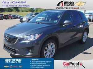 2013 Mazda CX-5 AWD GT *AWD/LEATHER/SUNROOF*