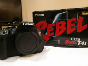 Used Canon EOS Rebel T4i - Body only