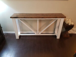 New Console Table / Shelf