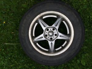 Low Km Cooper CS4 225/60/16 Tires on 5x100 Alloy Rims (Set of 4)