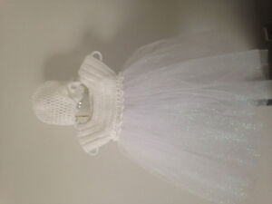 Crochet dresses, hats booties and slippers