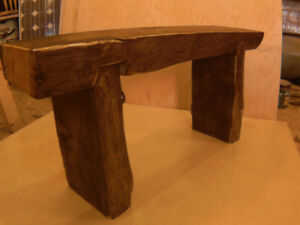 Quality rustic benches