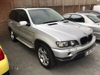 2002. BMW X5 Sport Auto. PERFECT DRIVE MOT VALUABLE PLATE X5 YEAH! Satnav DVD Tv