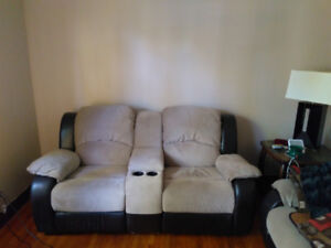 Matching Couch, Loveseat, and Corner Sectional Piece