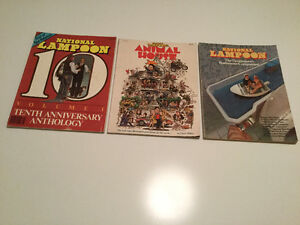 National Lampoon Magazines