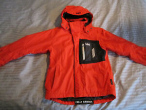HELLY HANSEN HELLY TECH GIRLS SKI JACKET RED SIZE 164/14