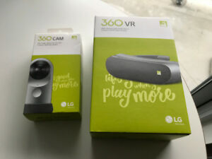 LG 360CAM and LG 360VR