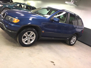 2003 BMW X5 CLEAN TITLE SAFETIED