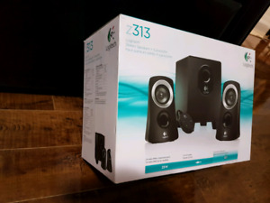 Logitech Z313 computer speakers 2.1