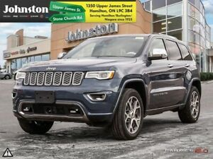 2019 Jeep Grand Cherokee Overland  - Leather Seats