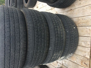 4 used tires 275/60R20
