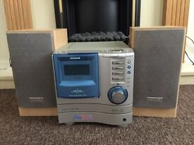 aiwa 3 robot cd changers/ stereo for sale.