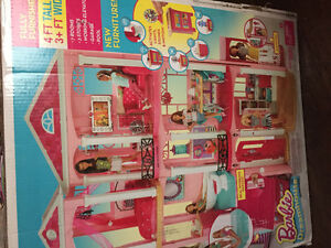 Brand new Barbie dream house