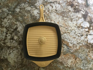 Cast Iron Calphalon panini press