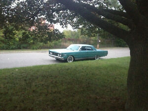 1965 Mercury Marauder 390cid no post
