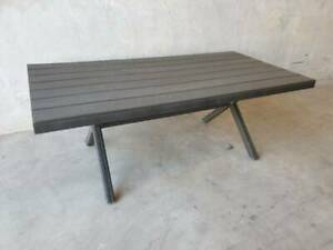Noosa Dining Table in Charcoal Loganholme Logan Area Preview