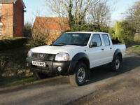 2009 NISSAN NAVARA NP300 DOUBLE CAB - PICK UP - ONE OWNER - FSH - LOW MILES @53K