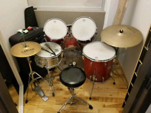 Tama Rockstar rm w Sabian hihat and ride