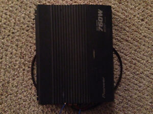 Amp two pioneer ten inch car subs and amp brand new