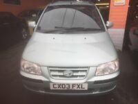 Hyundai Matrix 1.6 GSi Auto (silver) 2003