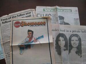 Elvis Presley Death Newspapers