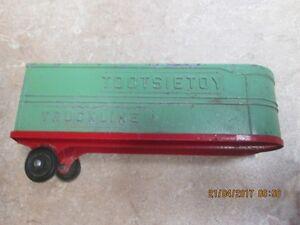 tootsie toy truckline--trailer only