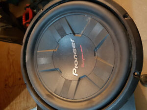 "Pioneer 12"" Champion Series Subwoofer"