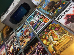 Playstation Portable (PSP) with 20+ games!