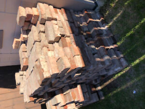 Bricks / patio stones - (on hold until Friday)