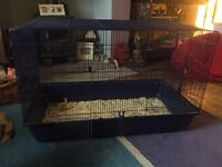 Large rat or hamster cage