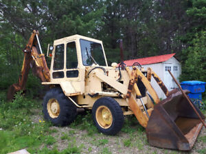 '76 Case 780 backhoe for sale
