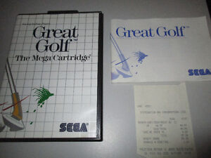 jeux Great Golf sega master