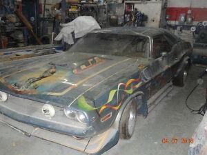 dodge chalenger 1970 440pc a restaurer