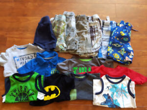 Toddler Boys Summer Lot Size 2T