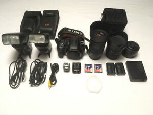 Sony a300 DSLR camera package