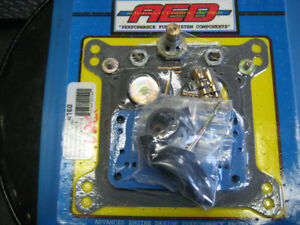 AED holley carb kit vac-sec 600-870 cfm