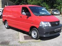 2008 TOYOTA HIACE 300 LWB 2.5 D 4D 95ps Diesel Van