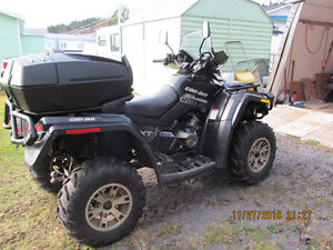 WANT TO TRADE OR SELL 2009 CAN-AM 2 UP SEAT