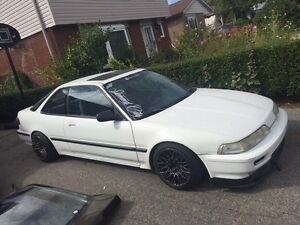 1991 Acura integra with parts car and b20v engine $4500 obo