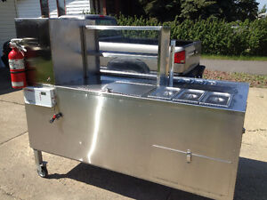 Hot Dog Food Cart For Sale