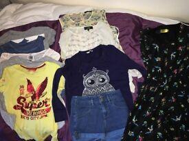 Size 6 girls clothes bundle .